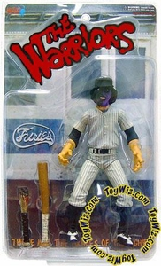 Mezco Toyz The Warriors ToyWiz Exclusive Limited Edition Action Figure Purple & Black Faced Baseball Fury (CLEAN VERSION) Only 1,500 Made!