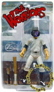 Mezco Toyz The Warriors ToyWiz Exclusive Limited Edition Action Figure Purple & Black Faced Baseball Fury (DIRTY VERSION) Only 1,500 Made!