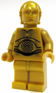 LEGO Star Wars LOOSE Mini Figure C-3PO [Dark Gold Pearl]