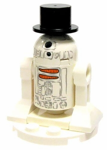LEGO Star Wars LOOSE Mini Figure R2-FROSTEETWO