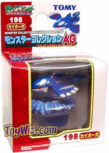 Pokemon Mini PVC Figure #198 Kyogre
