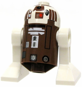 LEGO Star Wars LOOSE Mini Figure R7-D4 Astromech Droid [Brown & White Dome]