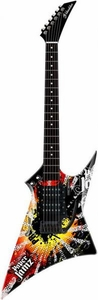 Paper Jamz Instant Rock Star Pro Series Guitar [Red & Orange]