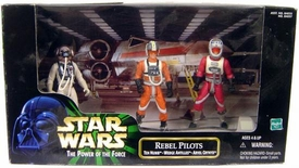 Star Wars POTF2 Power of the Force 3-Pack Rebel Pilots [Ten Numb, Wedge Antilles & Arvel Crynyd]
