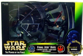 Star Wars POTF2 Power Of The Force Cinema Scene Final Jedi Duel