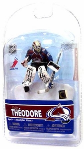 McFarlane Toys NHL Sports Picks 3 Inch Mini Figure Series 5 Jose Theodore (Colorado Avalanche)