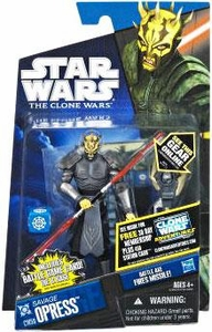 Star Wars 2011 Clone Wars Action Figure CW No. 59 Savage Opress [Armored]