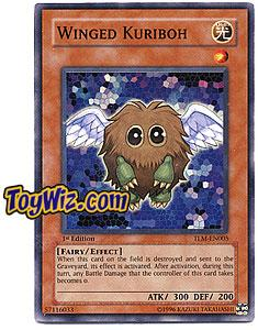 YuGiOh The Lost Millennium Super Rare Single Card TLM-EN005 Winged Kuriboh