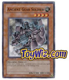 YuGiOh The Lost Millennium Single Card Common TLM-EN008 Ancient Gear Soldier