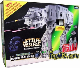 Star Wars POTF2 Power Of The Force AT-AT Walker with 2 Figures