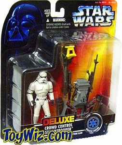 Star Wars POTF2 Power of the Force Deluxe Crowd Control Stormtrooper