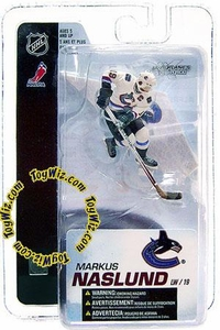 McFarlane Toys NHL Sports Picks 3 Inch Mini Figure Series 4 Markus Naslund (Vancouver Canucks)