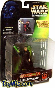 Star Wars POTF2 Power of the Force Electronic Power F/X Luke Skywalker