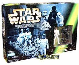 Star Wars POTF2 Power Of The Force Escape The Death Star Game With 2 Exclusive Figures