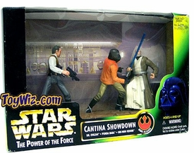Star Wars POTF2 Power of the Force Cinema Scene Cantina Showdown
