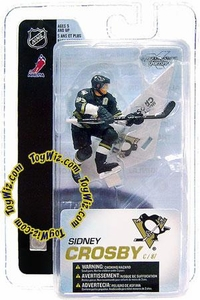 McFarlane Toys NHL Sports Picks 3 Inch Mini Figure Series 4 Sidney Crosby (Pittsburgh Penguins)