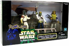 Star Wars POTF2 Power of the Force Cinema Scene Jabba's Skiff Guards