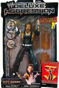 WWE Wrestling DELUXE Aggression Series 7 Action Figure Jeff Hardy