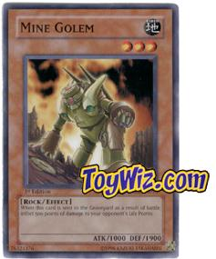 YuGiOh The Lost Millennium Single Card Common TLM-EN018 Mine Golem
