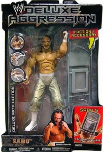 WWE Wrestling DELUXE Aggression Series 7 Action Figure Sabu
