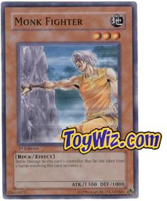 YuGiOh The Lost Millennium Single Card Common TLM-EN019 Monk Fighter