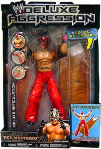 WWE Wrestling DELUXE Aggression Series 7 Action Figure Rey Mysterio