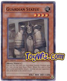 YuGiOh The Lost Millennium Single Card Common TLM-EN021 Guardian Statue