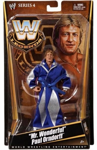 Mattel WWE Wrestling Legends Series 4 Action Figure Mr. Wonderful Paul Orndorff
