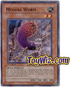 YuGiOh The Lost Millennium Single Card Common TLM-EN022 Medusa Worm