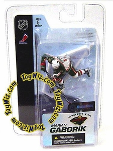 McFarlane Toys NHL 3 Inch Sports Picks Series 3 Mini Figure Marian Gaborik (Minnesota Wild)