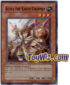 YuGiOh The Lost Millennium Single Card Common TLM-EN026 Aussa the Earth Charmer
