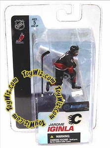 McFarlane Toys NHL 3 Inch Sports Picks Series 3 Mini Figure Jarome Iginla (Calgary Flames)