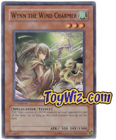 YuGiOh The Lost Millennium Single Card Common TLM-EN029 Wynn the Wind Charmer