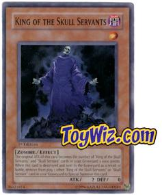 YuGiOh The Lost Millennium Single Card Common TLM-EN032 King of the Skull Servants