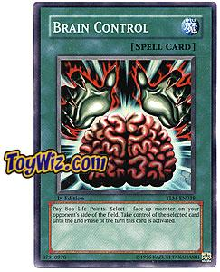 YuGiOh The Lost Millennium Super Rare Single Card TLM-EN038 Brain Control