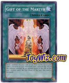 YuGiOh The Lost Millennium Single Card Common TLM-EN039 Gift of the Martyr