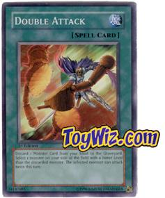 YuGiOh The Lost Millennium Single Card Common TLM-EN040 Double Attack