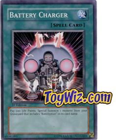 YuGiOh The Lost Millennium Single Card Common TLM-EN041 Battery Charger