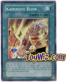 YuGiOh The Lost Millennium Single Card Common TLM-EN042 Kaminote Blow
