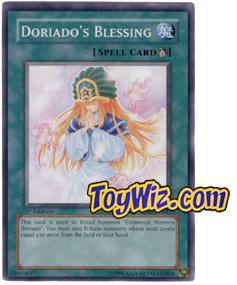 YuGiOh The Lost Millennium Single Card Common TLM-EN043 Doriado's Blessing