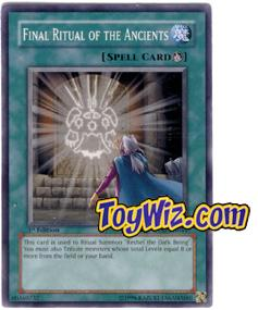 YuGiOh The Lost Millennium Single Card Common TLM-EN044 Final Ritual of the Ancients