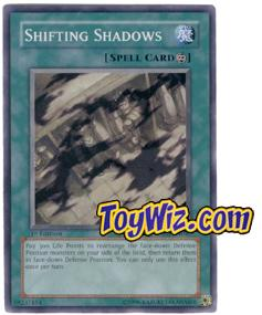 YuGiOh The Lost Millennium Single Card Common TLM-EN047 Shifting Shadows
