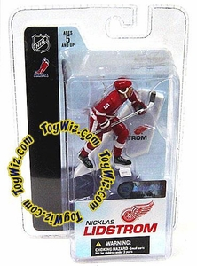 McFarlane Toys NHL 3 Inch Sports Picks Series 3 Mini Figure Nicklas Lidstrom (Detroit Red Wings)