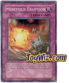 YuGiOh The Lost Millennium Single Card Common TLM-EN051 Minefield Eruption