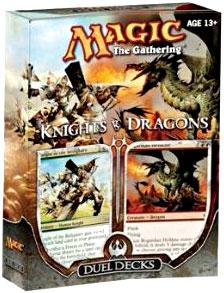 Magic the Gathering Duel Decks Knights vs. Dragons