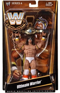 Mattel WWE Wrestling Legends Series 4 Action Figure Ultimate Warrior