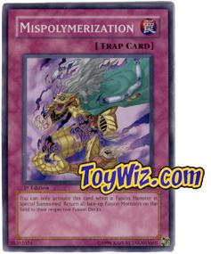 YuGiOh The Lost Millennium Single Card Common TLM-EN053 Mispolymerization