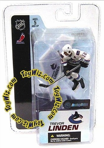 McFarlane Toys NHL 3 Inch Sports Picks Series 3 Mini Figure Trevor Linden (Vancouver Canucks) BLOWOUT SALE!