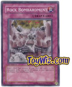 YuGiOh The Lost Millennium Single Card Common TLM-EN055 Rock Bombardment