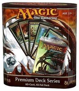 Magic the Gathering Card Game Premium Deck Series Slivers [60 Card, All Foil Deck]